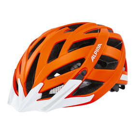 Alpina Panoma City Helmet orange matt reflective